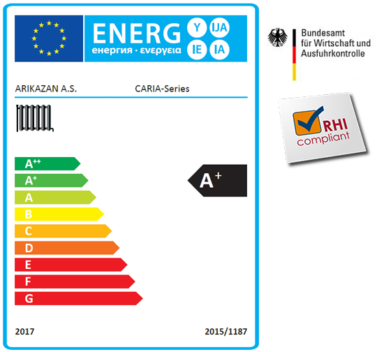 RB Grand Lux Pelletspanna Energideklaration