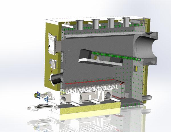 BMT Biobränsle- & Flisbrännare för industri 1-6 MW
